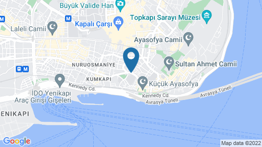 Sultanahmet Suites - Apartments Map