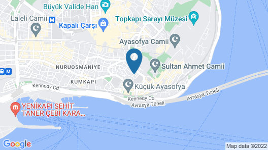 Ala Sofia Hotel Map