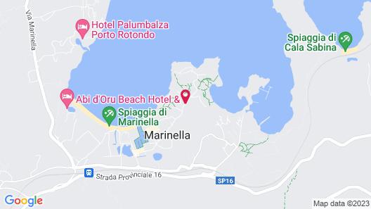 Hotel Marana Map