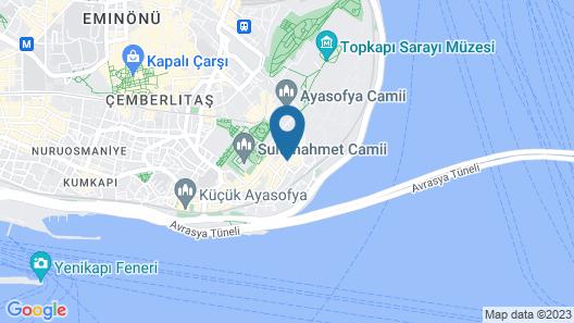GLK PREMIER Regency Suites & Spa Map