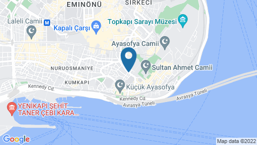 Hotel Fehmi Bey - Special Class Map