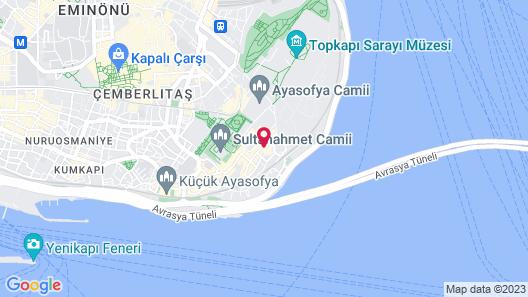 GLK PREMIER Acropol Suites & Spa Map