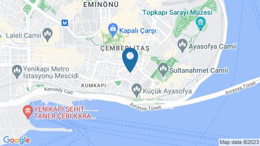 Kare Hotel Sultanahmet Map