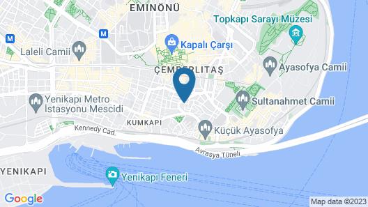 Blue Marmara Suites Map