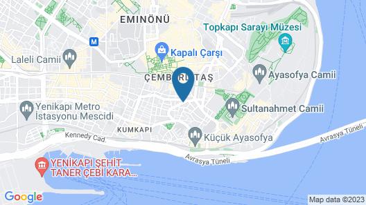 Innova Sultanahmet Istanbul Map