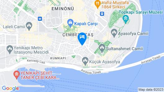 Artika Hotel Map
