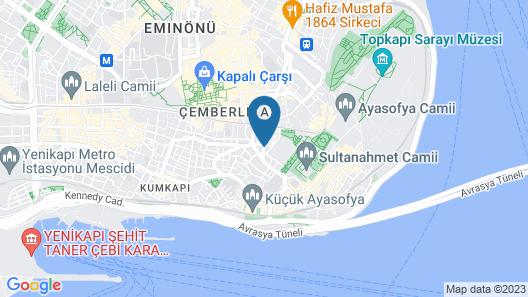 Divas Hotel Map