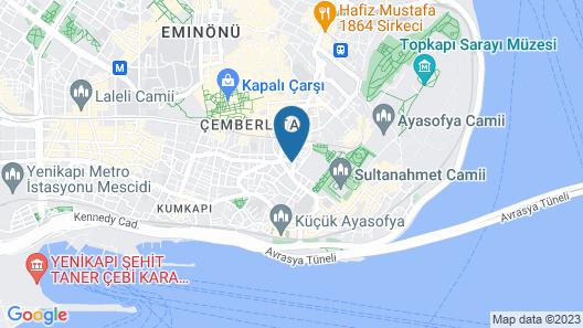 Redamancy Hotel Map