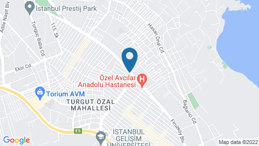 Nokta Suites Hotel Map