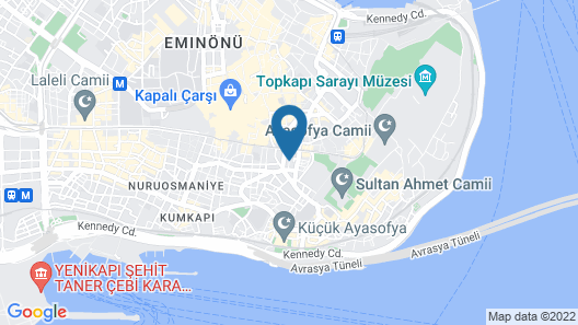 Sultanhan Hotel - Special Class Map