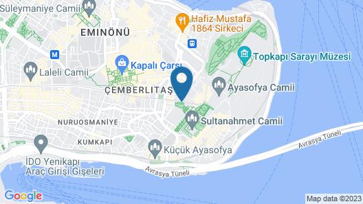 Esra Sultan Petrol Hotel Map