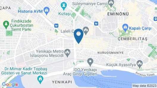 Delta Hotel Istanbul Map