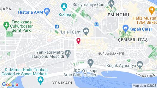 Amethyst Hotel Map
