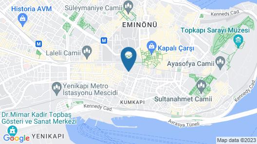 Grand Beyazit Hotel Map