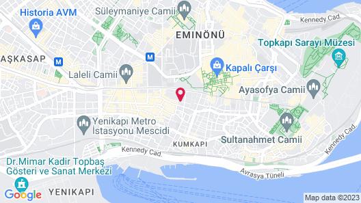 Endican Beyazit Hotel Map