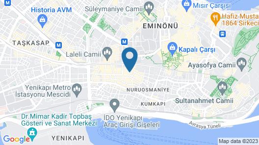 Beyazit Palace Hotel Map