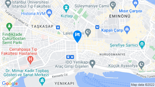 Hotel Istanbul Trend Map