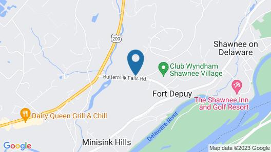 Shawnee Village Resort Map