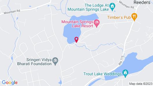 Mountain Springs Lake Resort Map