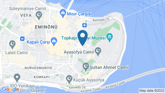 Agora Life Hotel Map