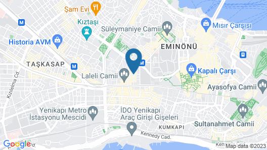 Klas Hotel Map