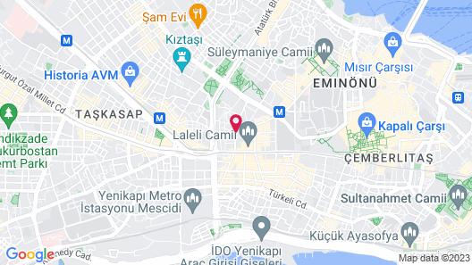 Zagreb Hotel Map
