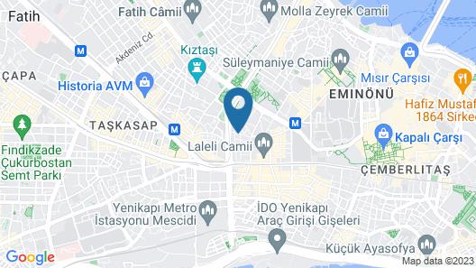Grand Pamir Hotel Map