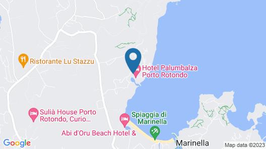Hotel Palumbalza Porto Rotondo Map