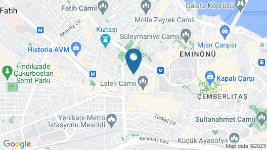 Holiday Inn Istanbul - Old City, an IHG Hotel Map