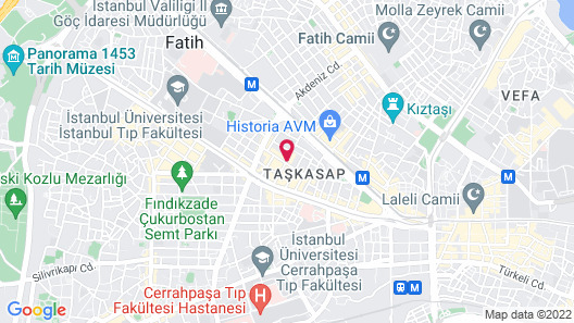 Ottoman's Life Hotel Deluxe Map