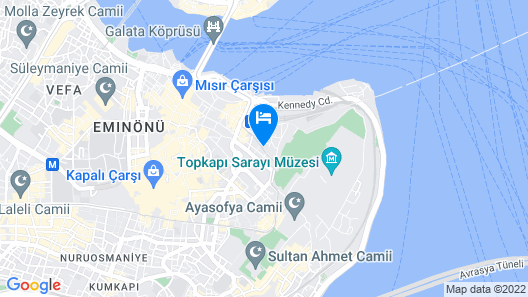 Orient Express & Spa by Orka Hotels Map