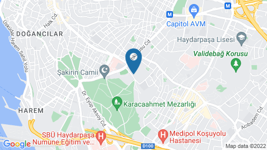 Volley Hotel Istanbul Map