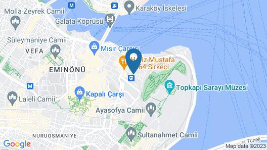 4 Angels Hotel Map
