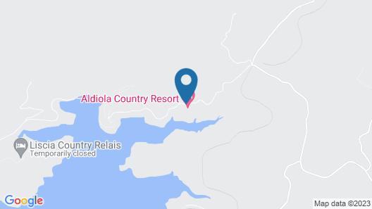 Hotel Aldiola Country Resort Map