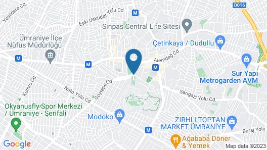 Zin D Home Dudullu Suits Map