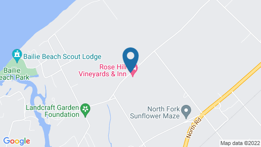 Shinn Estate Vineyards and Farmhouse Map