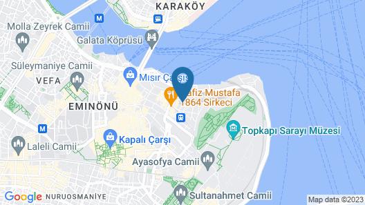 Sirkeci Esen Hotel Map
