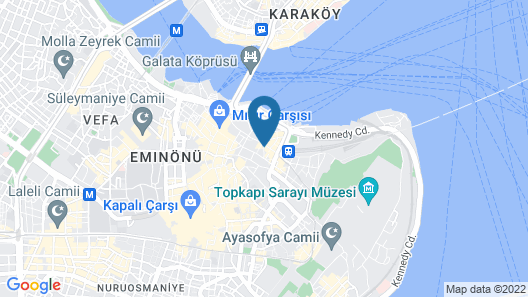 Venue Hotel Old City Istanbul Map