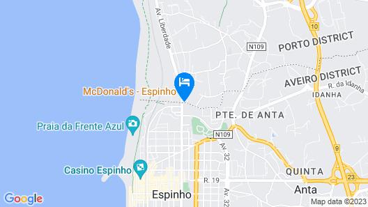 Monte Lírio Hotel Map