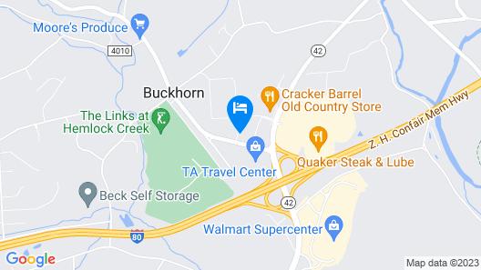 Holiday Inn Express Bloomsburg, an IHG Hotel Map