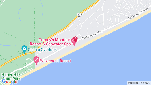 Gurney's Montauk Resort & Seawater Spa Map