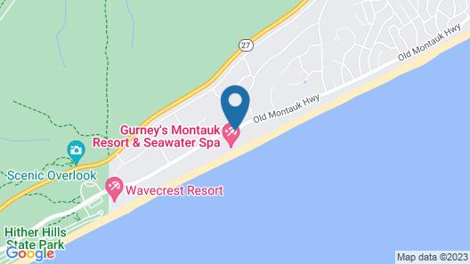Gurney's Montauk Resort & Seawater Spa Map