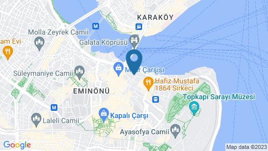Alpek Hotel Map