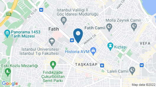 Dosso Dossi Hotels & Spa Downtown Map