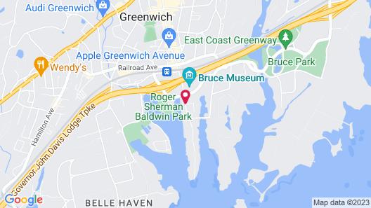 Delamar Greenwich Harbor Map