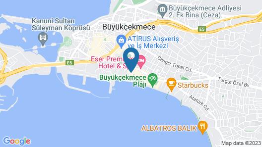 AlaDeniz Hotel Map
