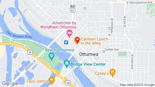 Hotel Ottumwa Map