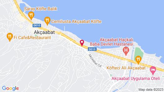 Secilya Hotel Map