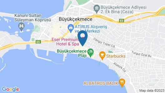 Eser Premium Hotel and Spa Map