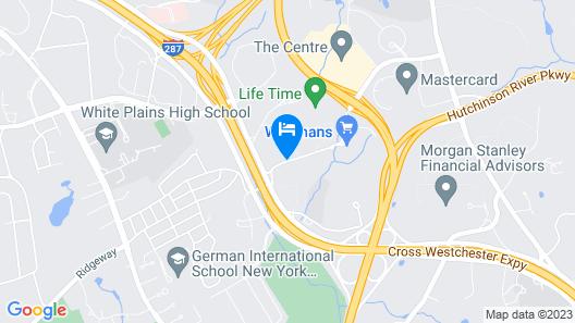 HYATT house White Plains Map